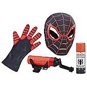 Spider-Man Kid Arachnid Hero Mask and Super Web Slinger