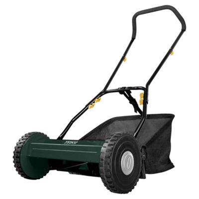 hand push lawn mower. tesco hand push lawn mower, 38cm mower