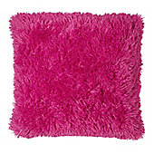 Catherine Lansfield Home Cuddly Cushion Cover (45x45cm) - Hot Pink
