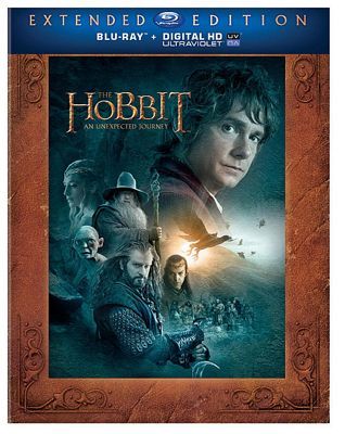 The Hobbit: An Unexpected Journey - Extended Edition 3D 2D Blu-Ray