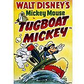 Disney Tugboat Mickey 1940 Canvas Print Wall Art