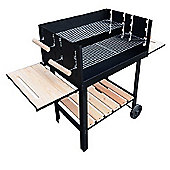 Outsunny Trolley Charcoal BBQ Barbecue Grill