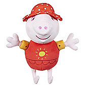 Peppa Pig Talking Holiday Peppa Soft Toy