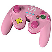 Super Smash Bros Wired Fight Pad Princess Peach