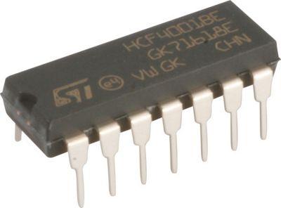 4001 CMOS Logic HCF/HEF