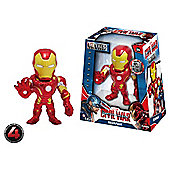 Metals Die Cast Marvel Civil War: 4 Inch Iron Man