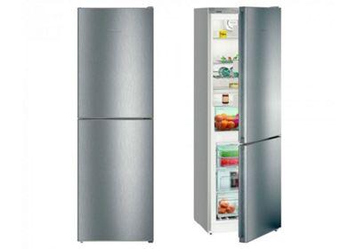 Liebherr CNEL4313 60cm NoFrost Fridge Freezer in Stainless Steel