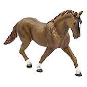 Chestnut Hanoverian Stallion Horse Figurine Toy by Animal Planet