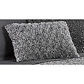 Rapport Limoges Grey Filled Boudoir Cushion - 30x50cm
