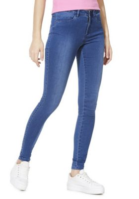 Only Stretch Skinny Jeans Blue M (10) 30 Leg