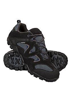 Mountain Warehouse Curlews Mens Waterproof Walking Shoes - Grey