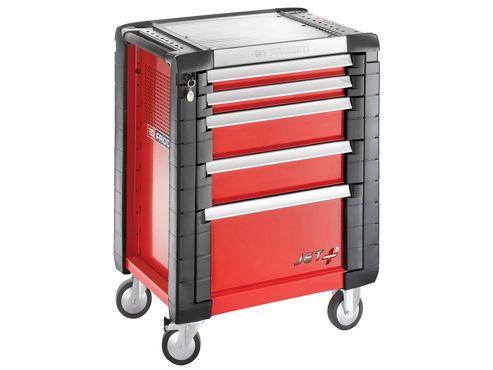 Facom JET.5M3 5 Drawer Roller Cabinet Red