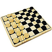 Discovery Store Wooden Draughts Set