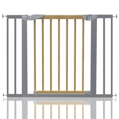 Safetots Beechwood and Metal Pressure Fit Gate 96.7 - 104.1cm
