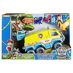 Paw Patrol Jungle Terrain Vehicle Rescue Set