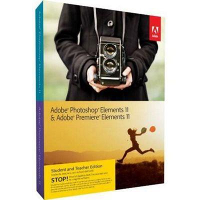 Adobe Photoshop Elements and Premiere Elements 11 Bundle (PC/Mac) - Student and Teacher Edition