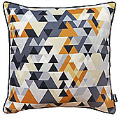 Rocco Quartz Mustard Cushion Cover - 43x43cm