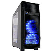 Cube Rebellion+ Ultra Dual Core 8GB 1TB R7 360 Windows 8 Gaming PC Rig System