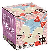 Petit Collage Rabbit Petit Puzzle