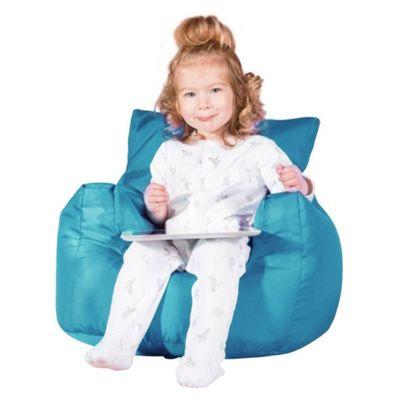 Big Bertha Original™ Childrens Armchair Bean Bag - Aqua Blue