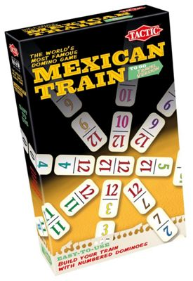 Tactic Mexican Train Travel Game