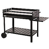 Atlanta Charcoal BBQ Trolley Grill