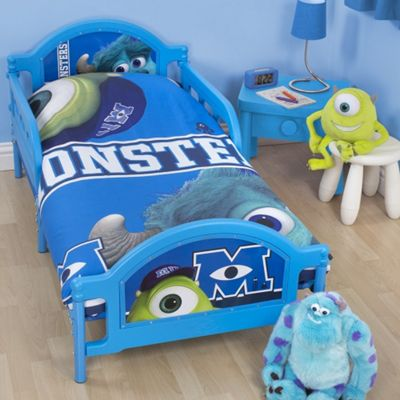 Disney Pixar Monsters University Toddler Bed Junior