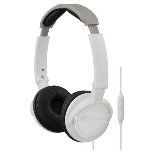 JVC HA-SR500W Lightweight Headphones White