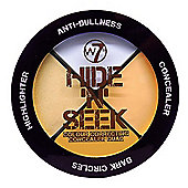 w7 Hide 'N' Seek Colour Correcting Concealer Quad - Anti Dull 5g