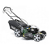 "Webb R21HW 21"" Self Propelled Hi-Wheel Petrol Rotary Lawnmower"