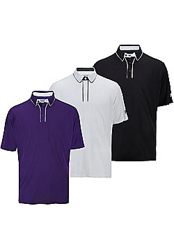 Forgan Of St Andrews Mxt V2 Mens Golf Polo Shirts - 3 Pack Small