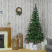 Noma - 6ft Bowmore Pine Pre-Lit 1-2-3 Artificial Christmas Tree