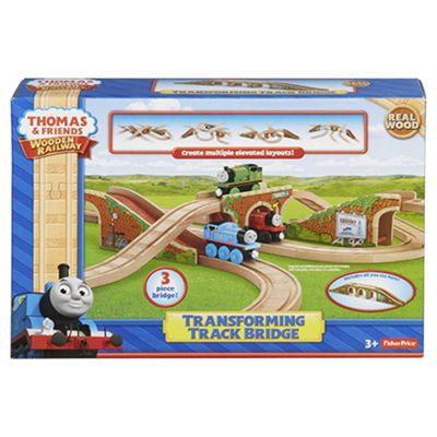 Fisher-Price Thomas & Friends Wooden Railway Transforming Track Bridge
