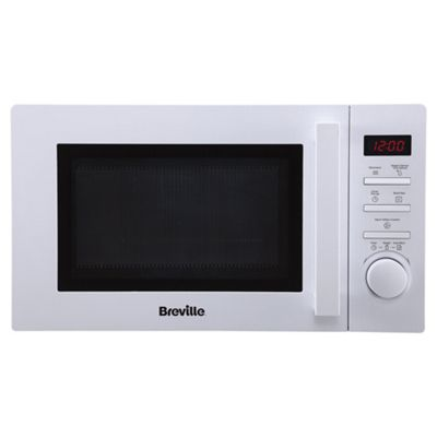 Breville Brsmwp1716 White 17l Solo Microwave