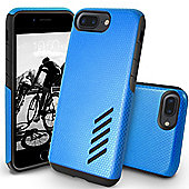 Orzly iPhone 7 Plus, iPhone 8 Plus Grip-Pro Case - Blue