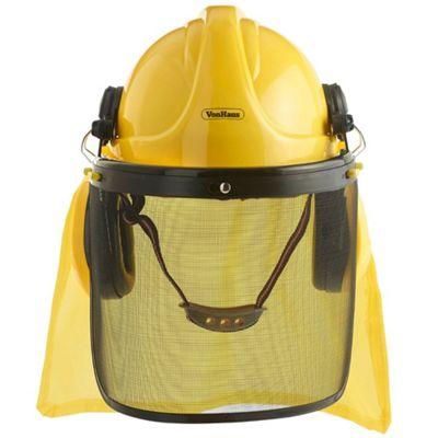 VonHaus 4 in 1 Construction / Forestry Helmet Hardhat