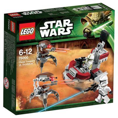 LEGO Star Wars Clone Troopers vs Droidekas Battle Pack 75000