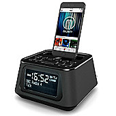 Majority Madingley Rise iPhone Speaker Dock Alarm Clock Black