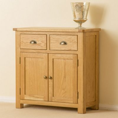 Roseland Oak Sideboard - Small Sideboard - Waxed Oak