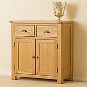 Roseland Oak Small Sideboard - Waxed Oak Finish