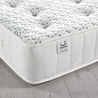 Happy Beds Cashmere 3000 Pocket Spring Memory Foam Mattress - 2ft6 Small Single