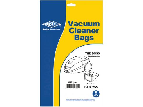 Connect Bag255 Dust Bag Boss B3300 Type U59 X5