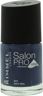 Rimmel Salon Pro Nail Polish 12ml - 411 Navy Seal