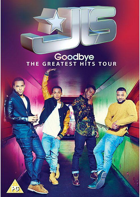 Jls Goodbye: The Farewell Tour DVD