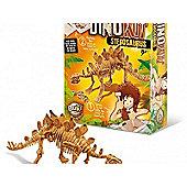 Dino Kit - Stegosaurus Childrens Science Experiments Brown - BUKI