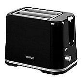 Tower T20009 2 Slice Toaster - Black