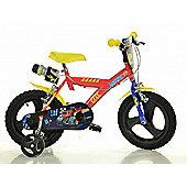 Disney Monster Machine Blaze 14inch Balance Bike Red - DINO Bikes