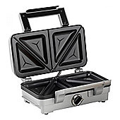 Cuisinart GRSM1WU 2 in 1 Sandwich and Waffle Toaster in Stainless Steel