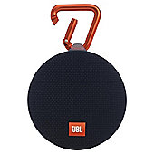 JBL Clip 2 Waterproof Ultra-Portable Bluetooth Speaker - Black