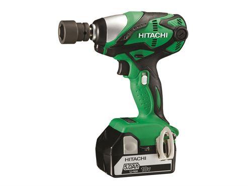 Hitachi WR18DSDL Impact Wrench 18V 2 x 5.0Ah Li-Ion